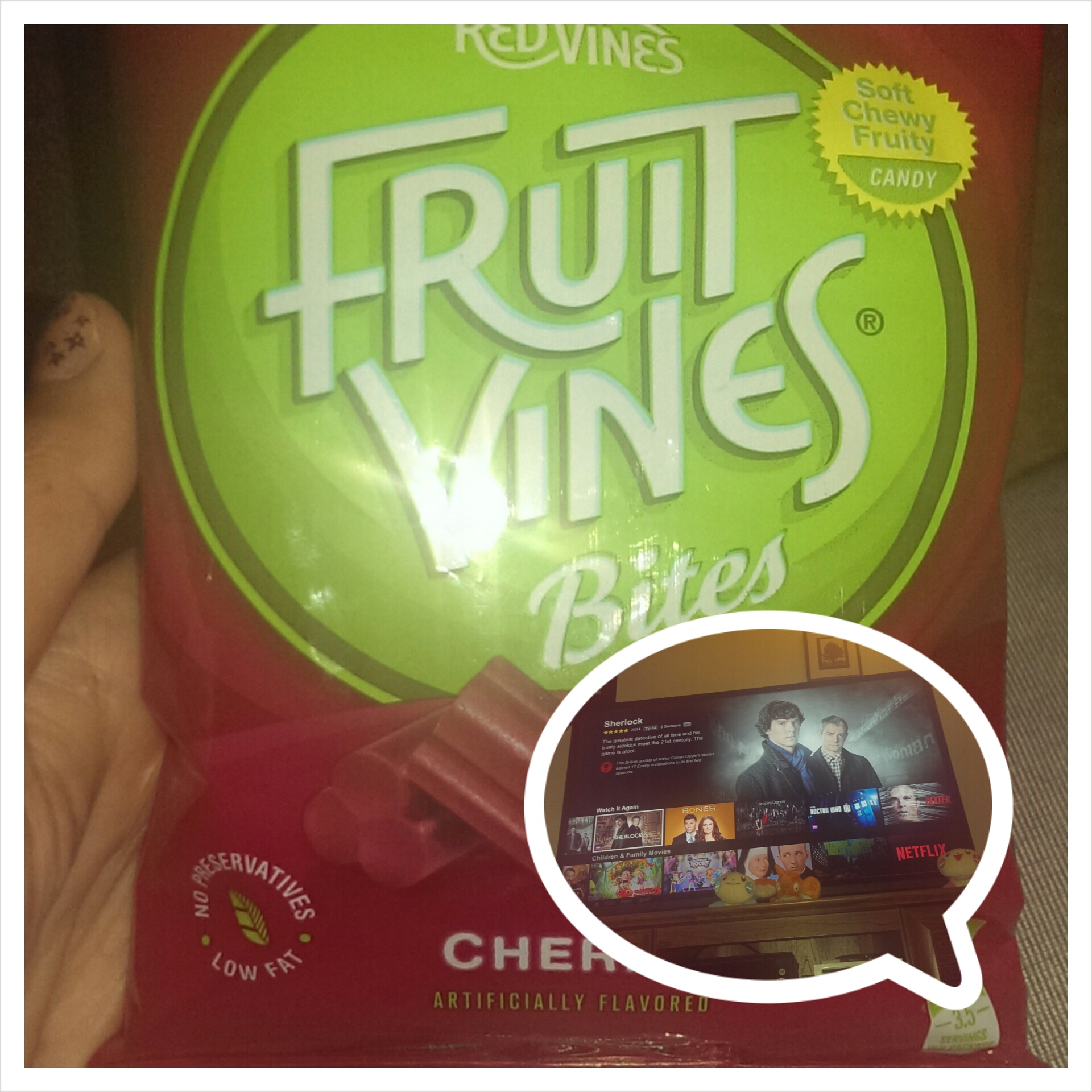 Fruit Vines for Netflix night
